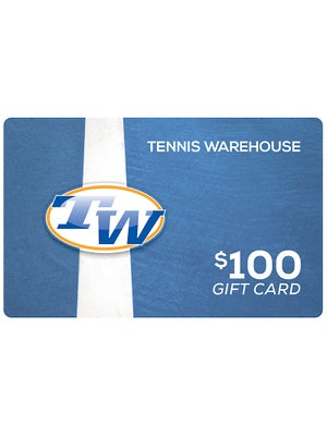Tennis Warehouse Gift Card $100