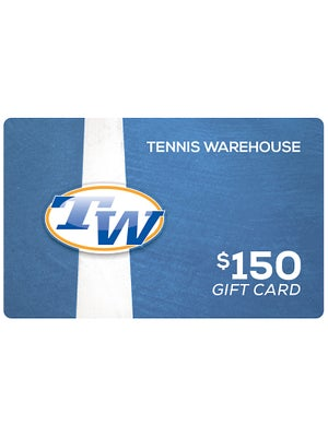 Tennis Warehouse Gift Card $150