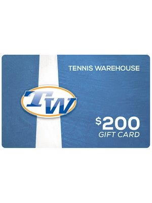 Tennis Warehouse Gift Card $200