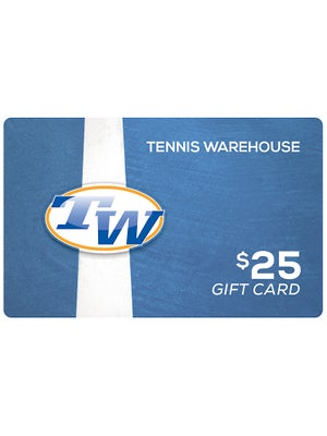 Tennis Warehouse Gift Card $25