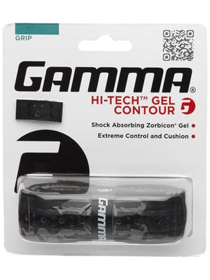 Gamma Hi Tech Gel Contour Grip Black