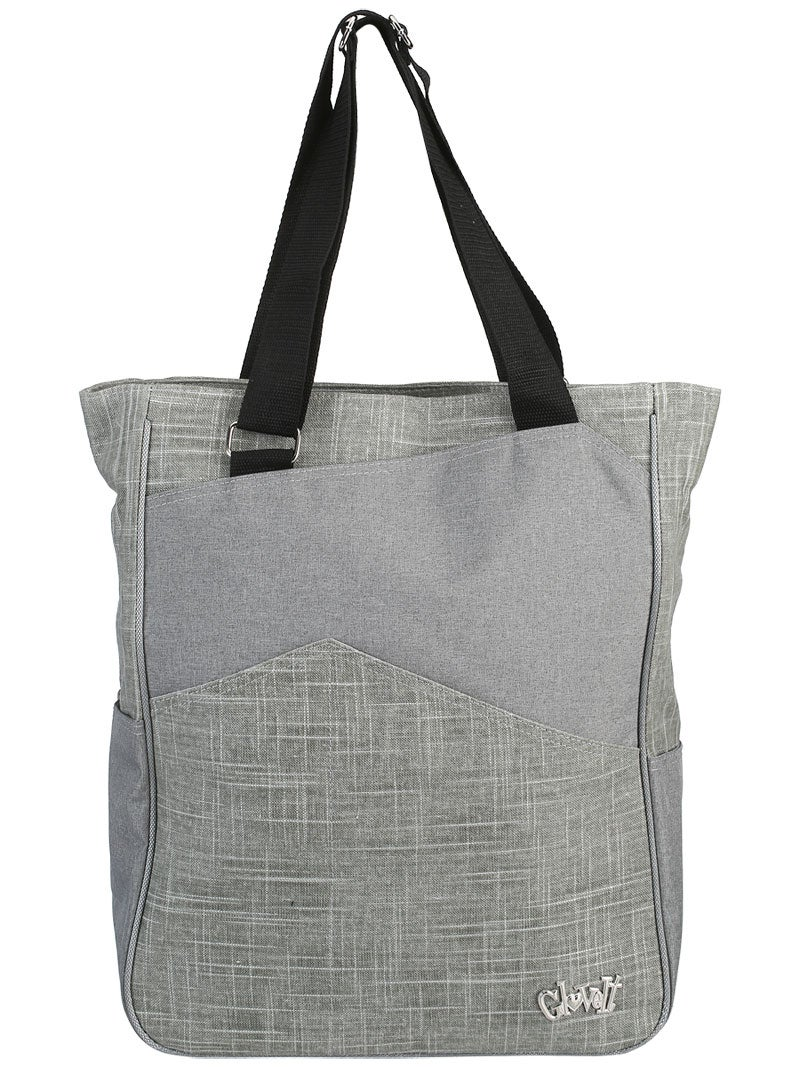 glove it tennis tote bag silver lining