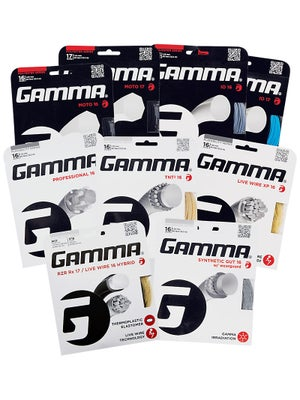 Gamma Performance String Variety Pack (9 sets)