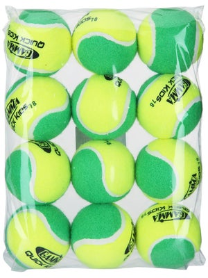 Gamma Quick Kids Green Ball (12 Pack)