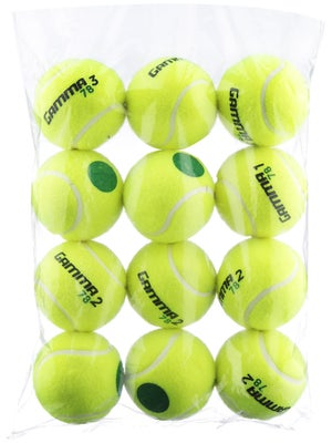 Gamma Quick Kids Green Dot Ball (12 Pack)