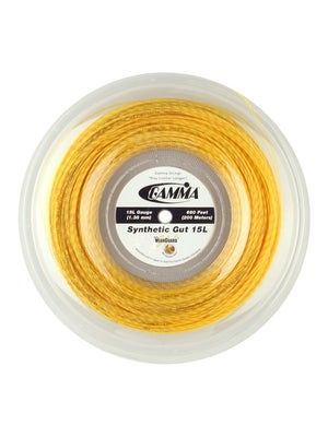 Gamma Syn. Gut WearGuard 15L 660' Reel Gold