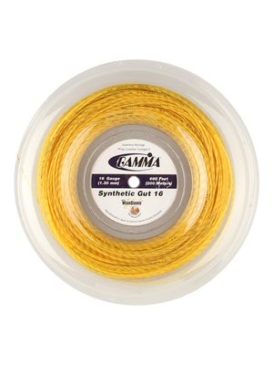 Gamma Syn. Gut WearGuard 16 Gold 660' Reel