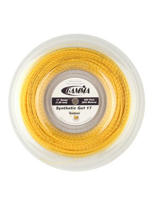 Gamma Syn. Gut WearGuard 17 Gold 660' Reel