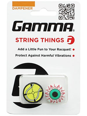 Gamma String Things Dampener 2 pack Blood Shot Eye