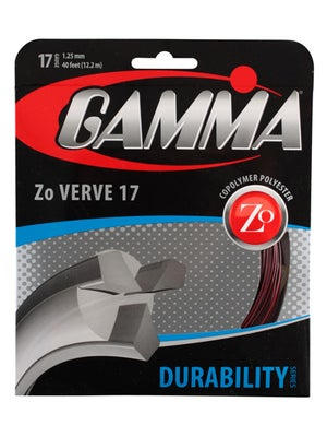 Gamma Zo Verve 17 String Black/Red