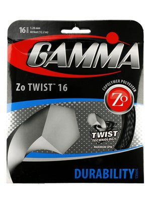 Gamma Zo Twist 16 String Black
