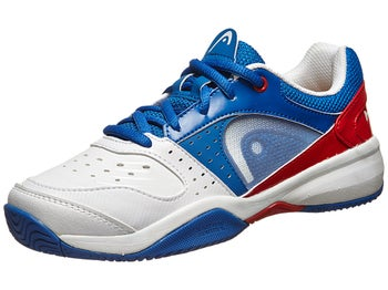 Head Sprint White/Blue/Red Junior Shoes