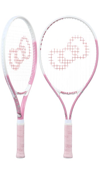 Hello Kitty Junior Tennis Racquet 25 - Pink