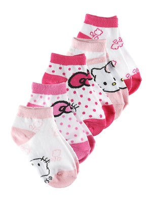Hello Kitty Junior Sport Socks 5-Pack