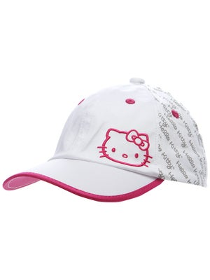 Hello Kitty Women's Script Hat White