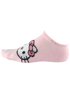 Hello Kitty Women's Solid Sports Socks Pink