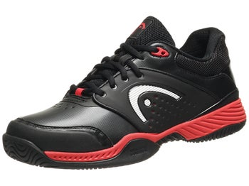 Head Prestige III Black/Red/White Men's Shoes