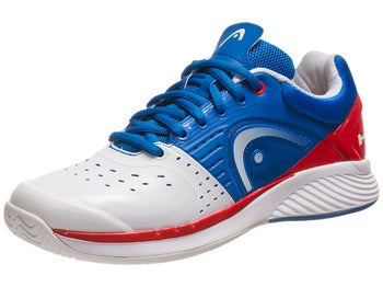 Head Sprint Pro White/Blue/Red Men's Shoes