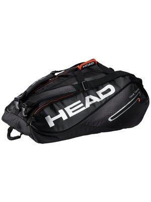 Head Tennis Bag >> Head Tour Team 12r Monstercombi Bag Black Silver