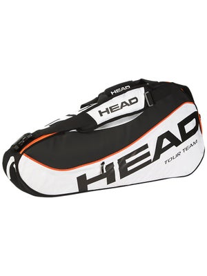 Head Tour Team White/Black Pro 3 Pack Bag