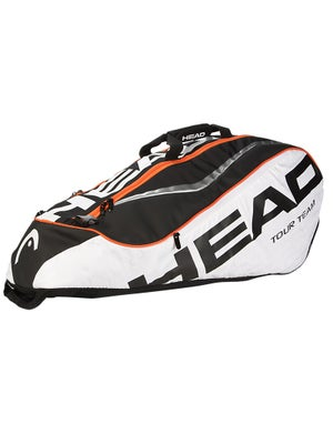 Head Tour Team White/Black Combi 6 Pack Bag