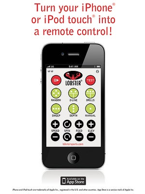 Lobster iPhone Remote Control Wi-Fi Router