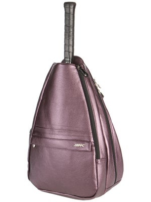 Jet Small Sling Bag Plum Nickle