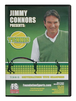 Jimmy Connors-Conversations w/ Champs DVD