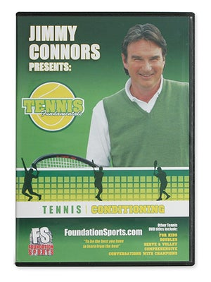 Jimmy Connors-Tennis Conditioning DVD