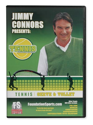 Jimmy Connors-Serve & Volley DVD