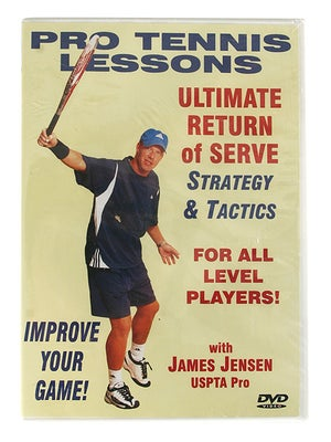 James Jensen - Ultimate Return of Serve DVD