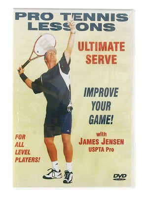 James Jensen - Ultimate Serve DVD