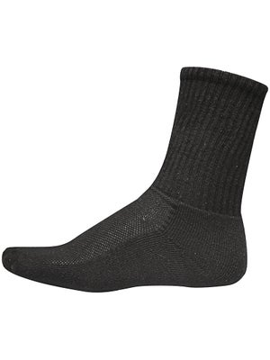 Jox Sox Men's Crew Socks Black Large