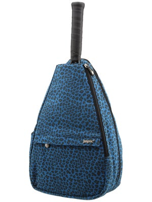 Jet Small Sling Bag Blue Suede