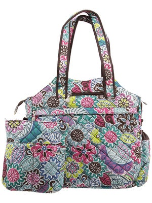 Jet Tote Bag Quilted Thai Spice