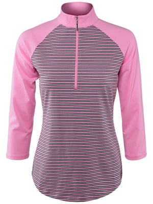 Jofit Women's Manhattan Raglan Mock Top