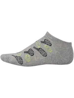 KBell Lucky Doubles Low Socks Grey
