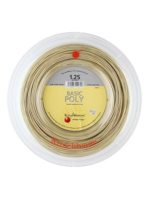 Kirschbaum Basic Poly 17 (1.25) String Reel