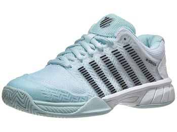 2eda0e9d289ea KSwiss Hypercourt Express Pastel/Black/Wh Junior Shoe