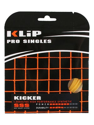 KLIP Kicker 16 Synthetic Gut String Gold