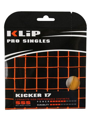 KLIP Kicker 17 Synthetic Gut String Gold