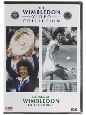 Wimbledon - Legends Billie Jean King DVD