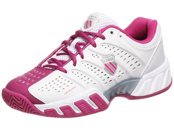 KSwiss BigShot Light Wh/Magenta Junior Shoe