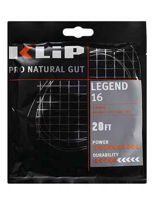 KLIP Legend Natural Gut 16 String Half Set