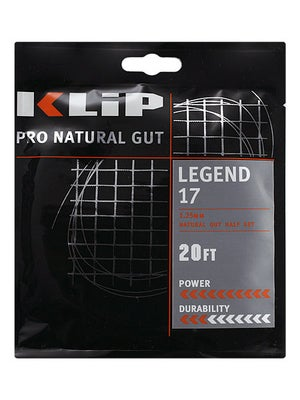 KLIP Legend Natural Gut 17 String Half Set