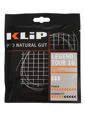 KLIP Legend Tour Natural Gut 16 String Black