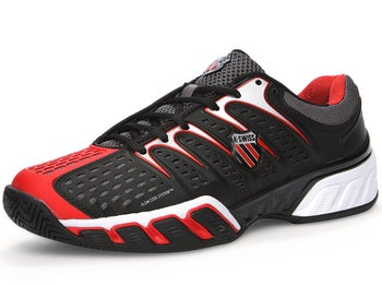 KSwiss BigShot II Black/Red Men's Shoes