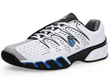 KSwiss BigShot II Wh/Black/Blue Men's Shoes