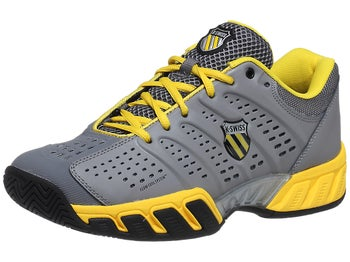 KSwiss BigShot Light Grey/Yellow Men's Shoes