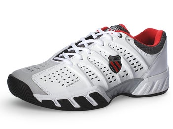 KSwiss BigShot Light Wh/Black/Red Men's Shoes